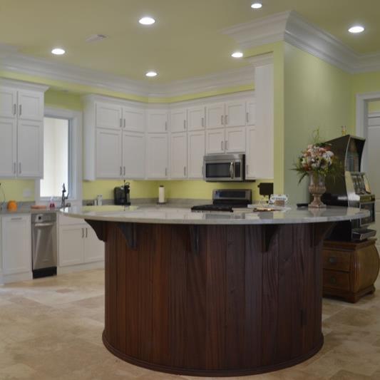 Kitchen | Round Kitchen Island